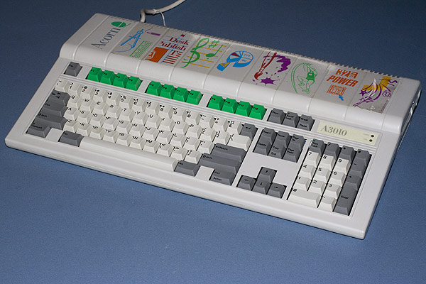 The Acorn A3010 with green function keys