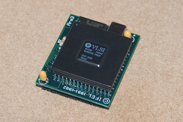 The IFEL ARM3 25Mhz processor daughterboard