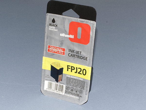 Olivetti FPJ20 ink-jet cartridge (sealed)