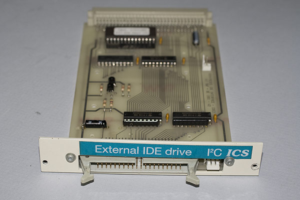 The IDE Interface with external socket and I2C bus