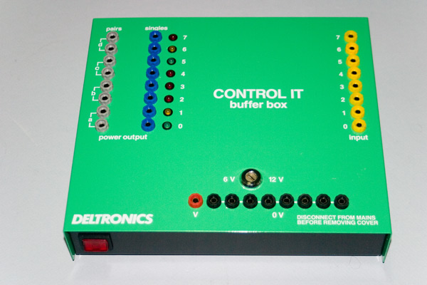 Control IT buffer box from Deltronics