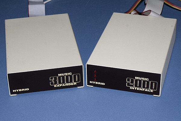 The Hybrid Music 2000 Interface and Music 3000 Expander