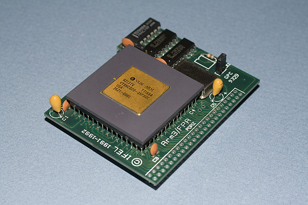 The IFEL ARM3 36MHz processor upgrade
