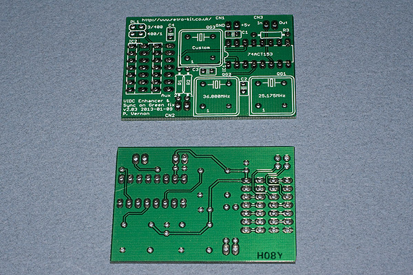 The Ultra VIDC Enhancer PCB