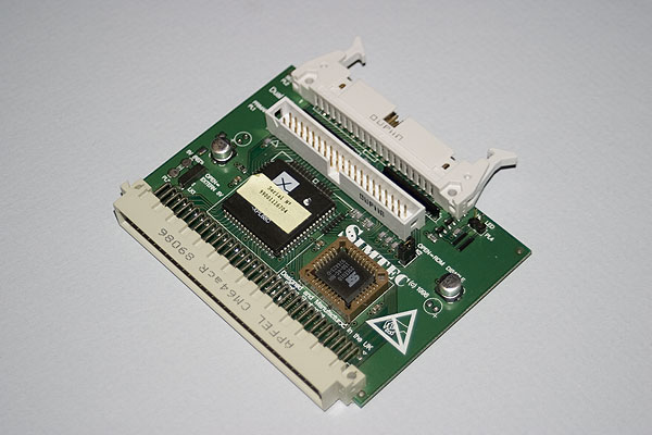 Simtec 16-bit IDE interface card after conversion