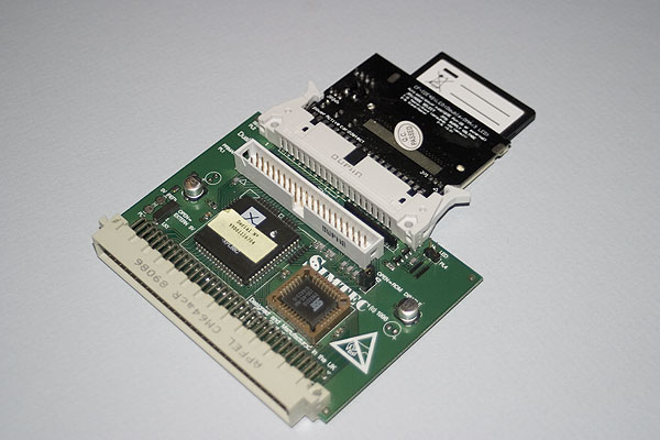 Simtec 16-bit IDE card with Compact=