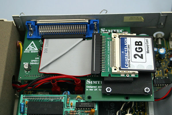 Simtec 8-bit IDE card with 2Gb compact flash