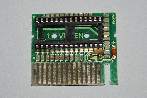 The Viglen Cartridge circuit board in detail