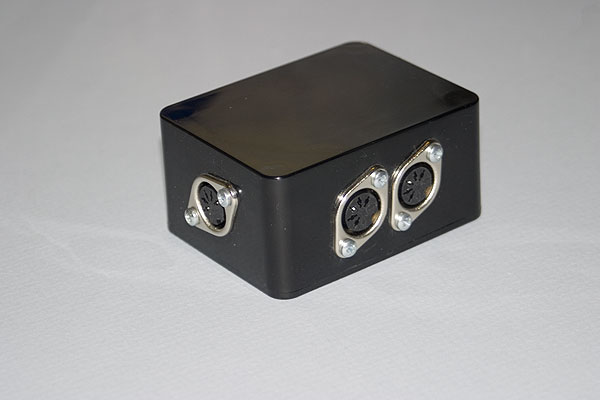A completed Acorn Econet socket box