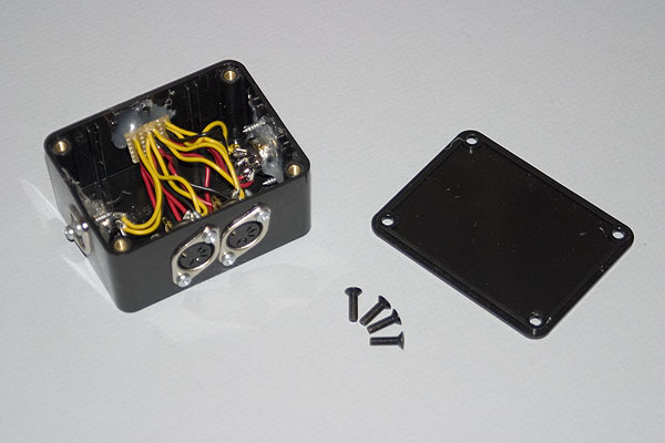 The Mk2 Econet Socket box after assembly