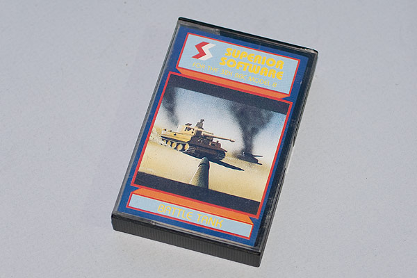 Battle Tank cassette case