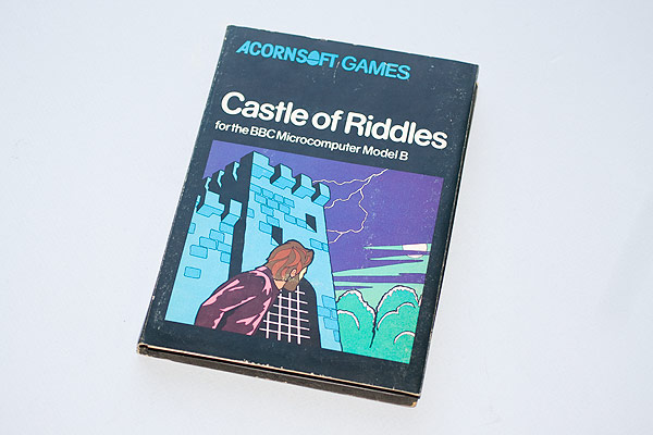 Castle of Riddles cassette case
