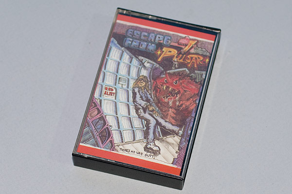 Escape From Pulsar 7 cassette case