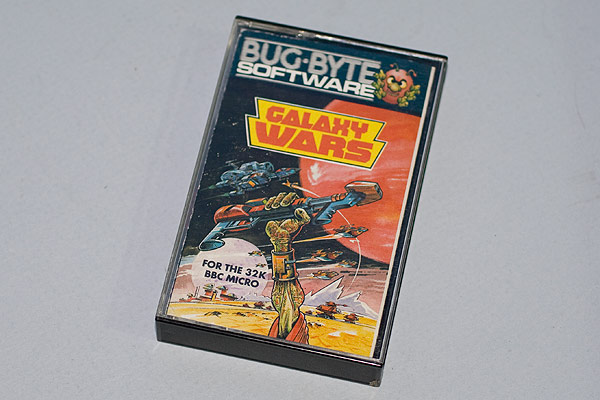Galaxy Wars cassette case