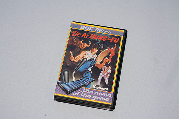 Yie Ar KUNG-FU cassette case