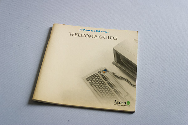 Archimedes 400 Series Welcome Guide