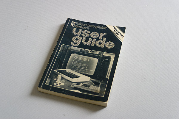 BBC Microcomputer User Guide (Provisional)