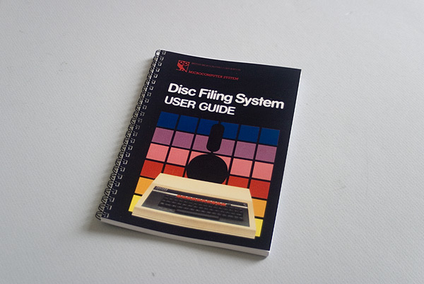Disc Filing System User Guide