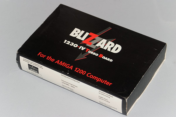 The Blizzard 1230 MkIV accelerator box
