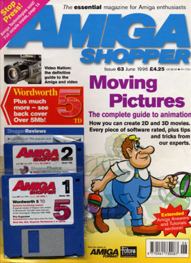 Amiga Shopper Iss 63 Front Cover