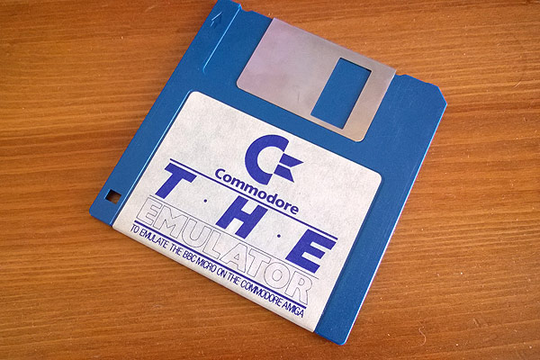 "The Emulator 3.5"" floppy disk"