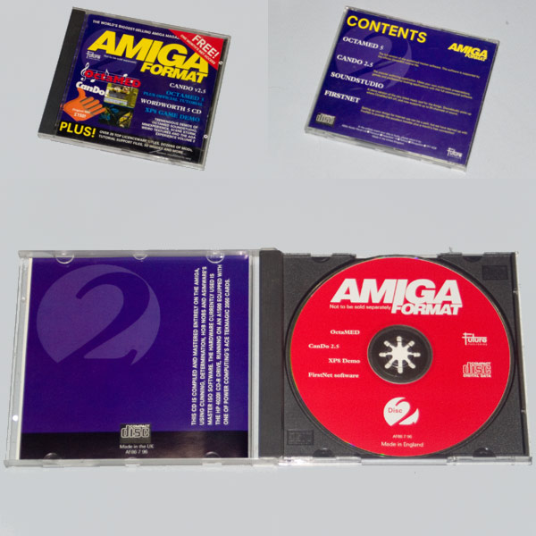 Amiga Format Cover Disc (AFCD2) - Compact Disc
