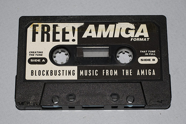 Blockbusting Music from the Amiga - Amiga Format 12 Audio Cassette