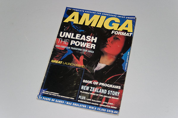 Amiga Format - Issue 1