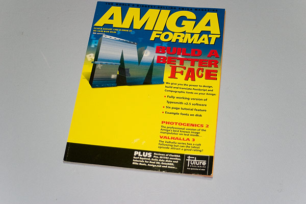 Amiga Format Issue 87