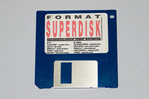 A reproduction ST/Amiga Format Issue 12 coverdisk