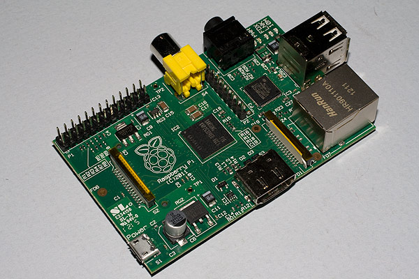 The Raspberry Pi (Model B) - version 1