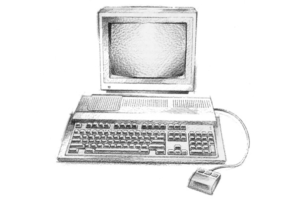 A sketch of the BBC A3000